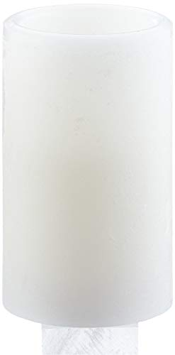 Star 066-33 Bougie LED en cire véritable à piles Multicolore 12 x 7,5 cm