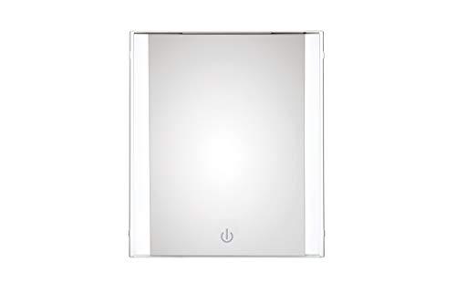Espejo de maquillaje iluminado Conair – Espejo de maquillaje iluminado con iluminación LED, espejo de…