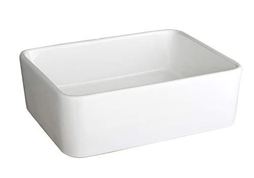 clickbasin £59 VALUE RANGE Large Rectangle Bathroom Sink TRIESTE