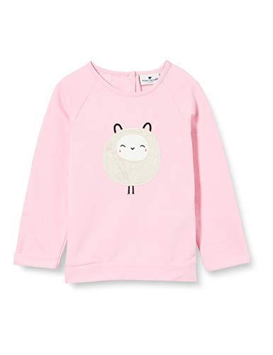TOM TAILOR Baby-Mädchen Sweatshirt T-Shirt, Prism pink|Rose, 80