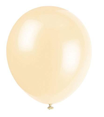 """50 Stück 12 """"(30CM) Luftballons Pearlised Metallic Air oder Helium Hochzeit Geburtstag Weihnachtsfeier Dekoration Erhältlich in 14 Farben (Champagner)"""