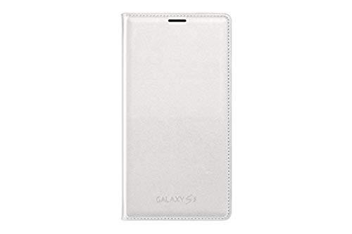 Samsung EF-WG900 - Funda para móvil Galaxy S5 (Con bolsillo interior para tarjetas), blanco