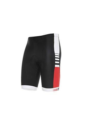 RH+ Legend Short, Apparel Bike Bibshort Uomo, Black-White, XXXL