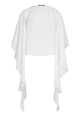 Vera Mont Chiffonstola Weiß, L Damen