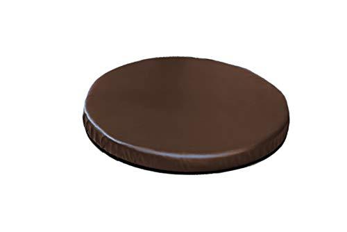 Comfort Finds Deluxe Swivel Cushion - Portable seat Cushion - Rotating Swivel seat Cushion (Dark Brown)