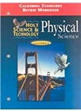 Holt Science & Technology Physical Science: California Grade 8: Standards Worksheets