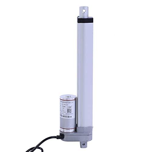 Actuador eléctrico lineal 1500N, soporte de motor eléctrico de elevación de actuador lineal de 200-750 mm de carrera de fuerza de 12 V(700mm)