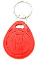 20 St. RFID Transponder Türzutrittskontrolle Zugangskontrolle Chip rot