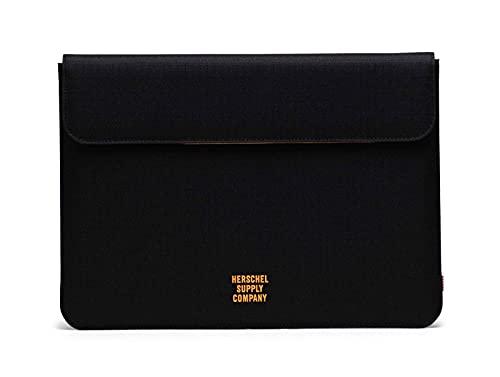 Herschel Spokane Sleeve 13 inch MacBook Black Ripstop/Blazing Orange
