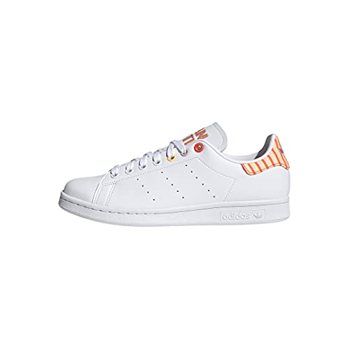 adidas Originals Women's Stan Smith (End Plastic Waste) Sneaker, White/Clear Pink/Solar Red, 8