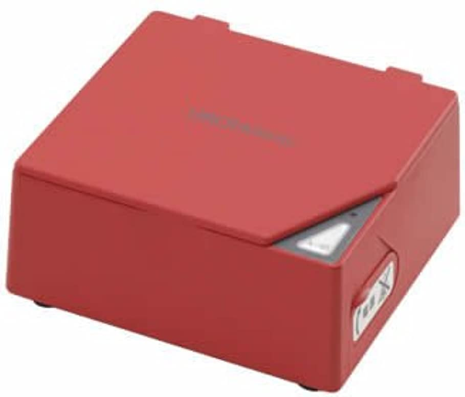 コンピューターを使用するマリンテキスト入れ歯洗浄器 ウロハミック レッド