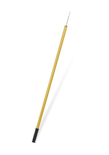 Ettore ETO49042 49042 Trash Picker Tool with Stainless Steel Tip, 43-Inch, Yellow