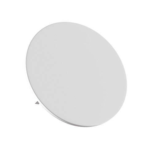 Applique Murale, LED Style Moderne, design ultramoderne, en plâtre couleur blanc, pour le Salon, le Bureau, 580lm 3000 k 3W 220V