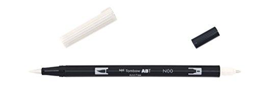 Tombow - ABT Dual Brush | Rotulador Acuarelable de Doble Punta para Dibujos Profesional, Lettering, Manga, Bocetos y Acuarela - Mazclador N00