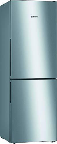 Bosch KGV33VLEA Serie 4 Freistehende Kühl-Gefrier-Kombination / A++ / 176 cm / 219 kWh/Jahr / Inox-look / 193 L Kühlteil / 94 L Gefrierteil / LowFrost / VitaFresh