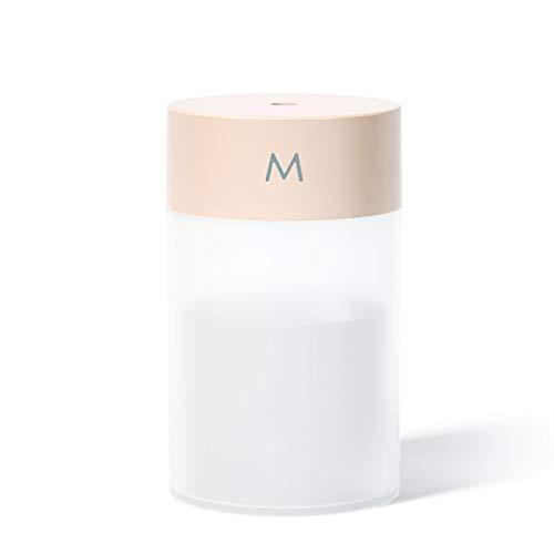 Mini Humidificateur, USB Humidificateur d'Air Chambre Silencieux pour Bureau, 260ml (pink)