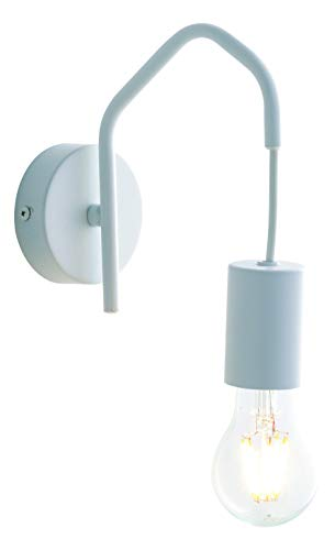 Wandleuchte HABITAT für E27-Leuchmittel, minimalistisches Design, elegante Wandlampe