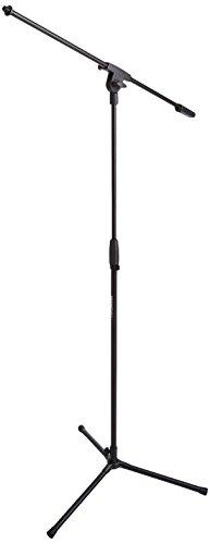 AmazonBasics - Treppiedi con asta porta-microfono a...