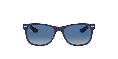 Ray-Ban Rj9052S Gafas de sol, Rectangulares Unisex niños, azul
