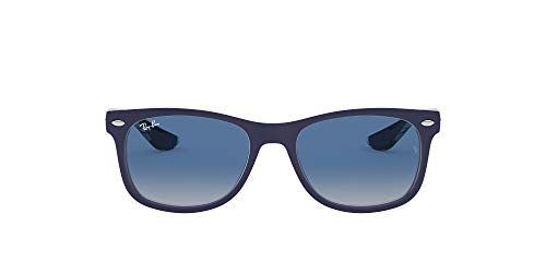 Ray-Ban Junior Unisex-Kinder 9052s Brillengestelle, Blau (Matte Blue On Trans), 48