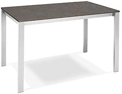 Modern Loft Mesa Plegable Trick C3, blanco, gris, metal ...