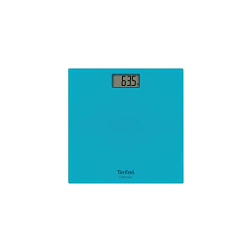 Tefal, bilancia pesa persone classica, plastica, turquoise