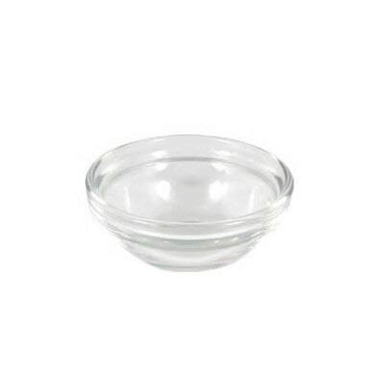 曲食事を調理する出席するガラスボウルXS (直径6×高2.7cm)