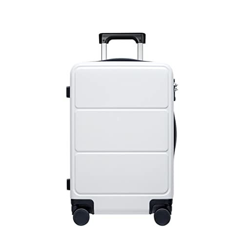 Viajes Equipaje Rolling Bag Carry On Maleta Material Spinner Wheels TSA Cerrar con Llave (Color : B, Luggage Size : 24')