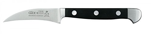 Güde ALPHA Serie Klingenlänge: 6 cm POM schwarz Schälmesser