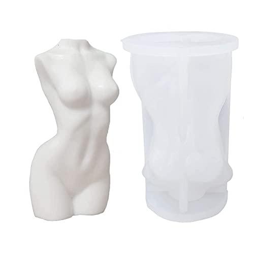 Stampi per candele per il corpo, 3D a forma di corpo femminile, Stampo in Silicone per Corpo Nudo Donna per realizzare candele profumate e sapone, decorazione fai da te Te Artigianato in Resina
