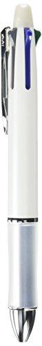 Pilot Dr. Grip 4+1, 4 Color 0.7 mm Ballpoint Multi Pen & 0.5 mm Pencil - White Body