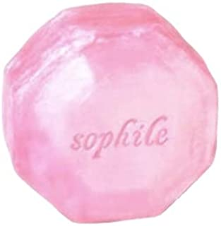 【Sophile】 ソフィール モーニングソープ 110g 《医薬部外品》(肌キメ・透明感・マッサージ効果・ひげ剃りにも)