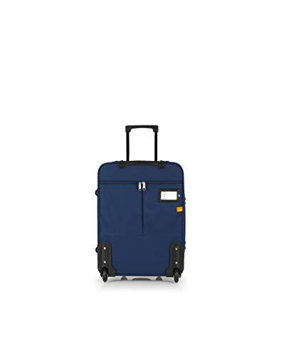 Gabol - Week | Maleta de Cabina de Tela de 40 x 55 x 20 cm con Capacidad para 34 L de Color Azul