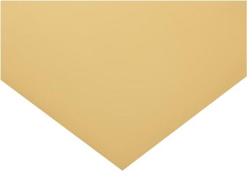 Polyester Shim Stock, Flat Sheet, Tan, 0.004