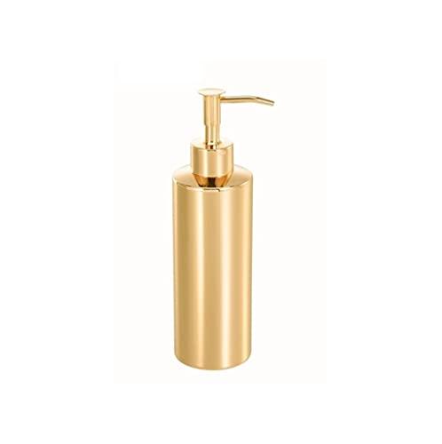 Dispensadores de loción y de jabó Dispensador de jabón simple Botella de botella de acero inoxidable. Dispensador de loción a prueba de fugas puede retener el aceite esencial de la loción Para cocina,