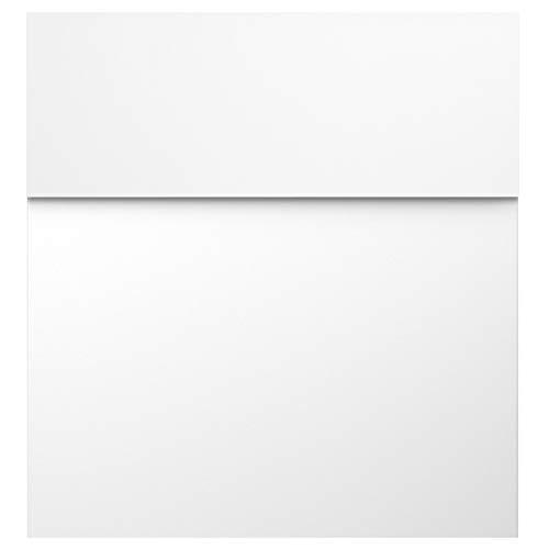Design-Briefkasten signal-weiss (RAL 9003) MOCAVI Box 570 hochwertiger Wand-Postkasten groß modern wetterfest rostfrei deutsche Markenqualität