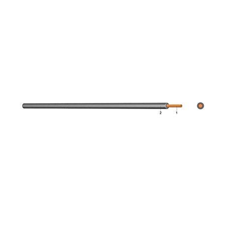 Eupen H05V-K 0,75 GR PVC Aderleitung feindrähtig grau 100m Bund 0,75mm² Kabel