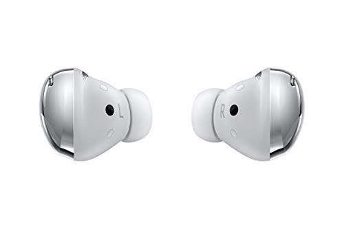 Samsung Galaxy Buds Pro, True Wireless Earbuds w/Active Noise Cancelling (Wireless Charging Case Included), Phantom Silver (International Version)