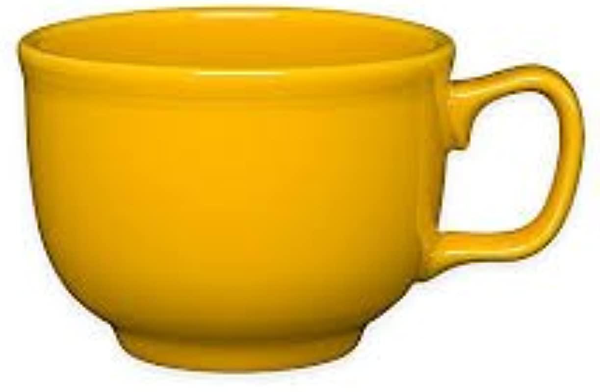 Homer Laughlin 149 342 18 Oz Jumbo Mug Daffodil