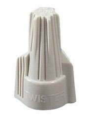 22-10 Ga. Tan Fit-All Ideal Wire Connectors- (pack of 50)