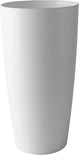 Artevasi Maceta, Blanco, 33x33x65 cm, Santorini 65 cm