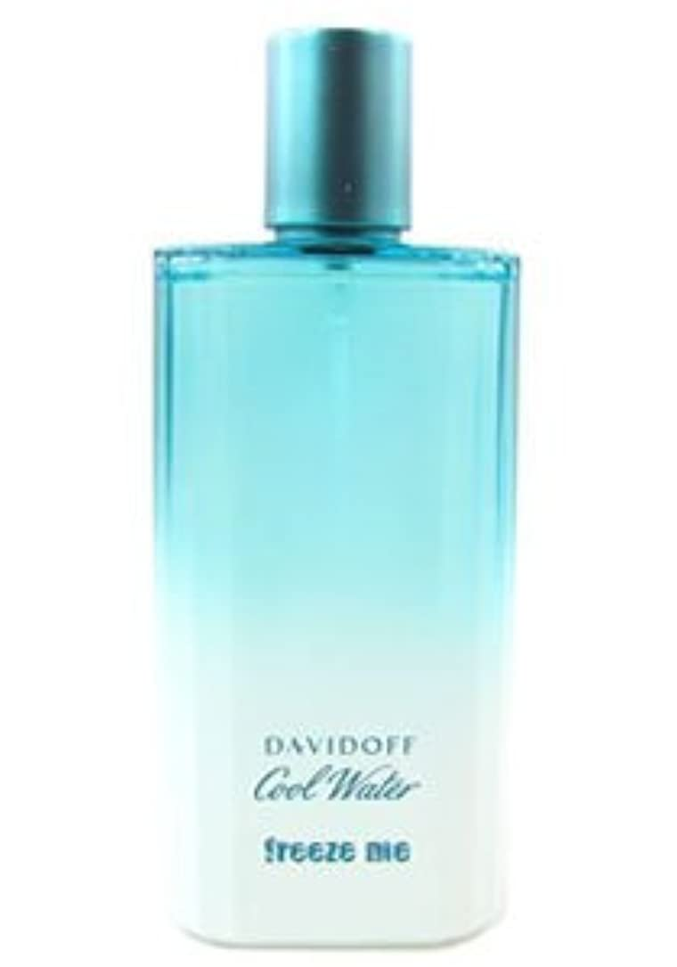 肘例外時Cool Water Freeze Me (クールウォーター フリーズミー) 4.2 oz (126ml) EDT Spray by Davidoff for Men