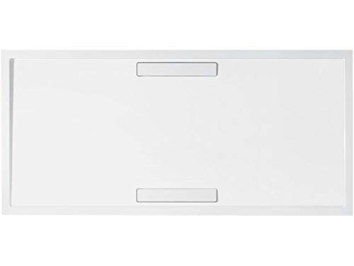 Villeroy & Boch Duschwanne Rechteck Squaro 140x90cm x1,8cm weiß (alpin) Super Flat