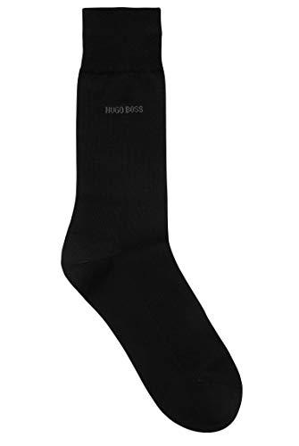 BOSS Herren George RS Uni MC Fil-d'Ecosse-Socken aus merzerisierter, ägyptischer Baumwolle