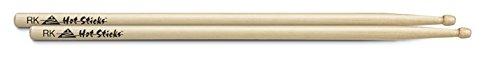 Hot Stickcks American Classic Hickory paar sticks uit olijfhout, motief rok, beige