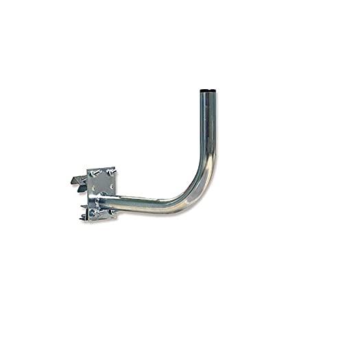 Soporte de Pared de Hierro y con baño de Protección Antioxidante Zincado Sat para Antena Parabólica de hasta 80cm.