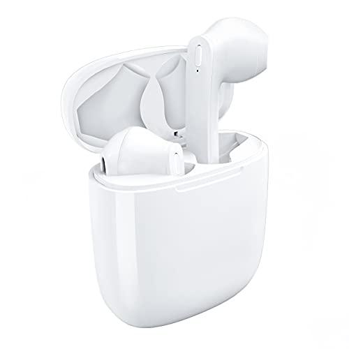 Auriculares inalámbricos, Auriculares inalámbricos Bluetooth V5.0 Auriculares...