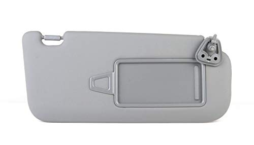 Hyundai Motors OEM Genuine 85202 2H0208M Right Passenger Inside Sun Visor Gray 1-pc For 2007~2010 Hyundai Elantra : Avante HD