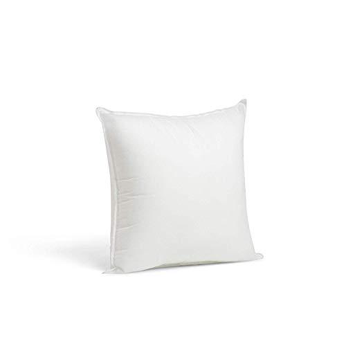 2 Rellenos cojines sofa hipoalergénicas para funda cojines decoracion y para almohadas de cama (40x40)
