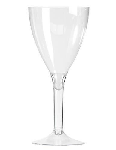 Verre à vin pied cristal par 10